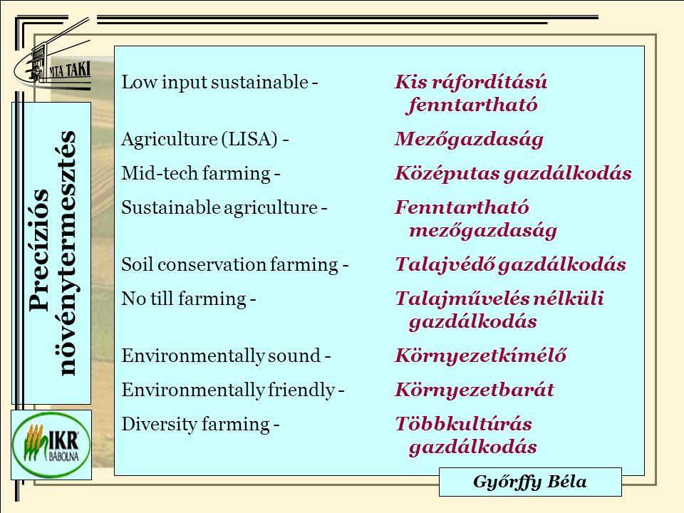 Precíziós növénytermesztés
