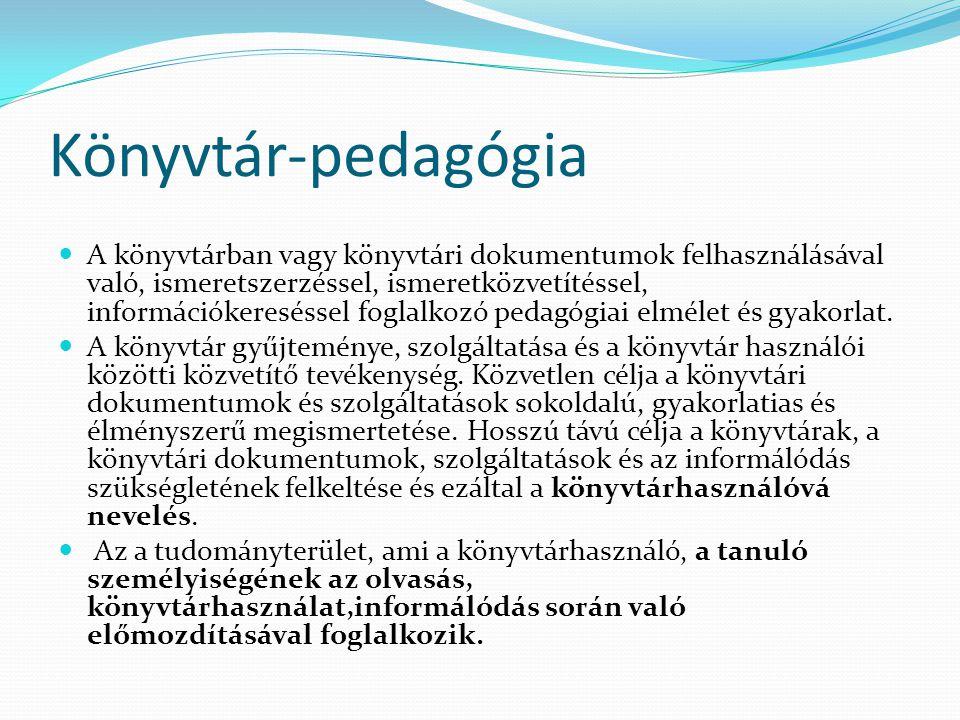 Könyvtár-pedagógia