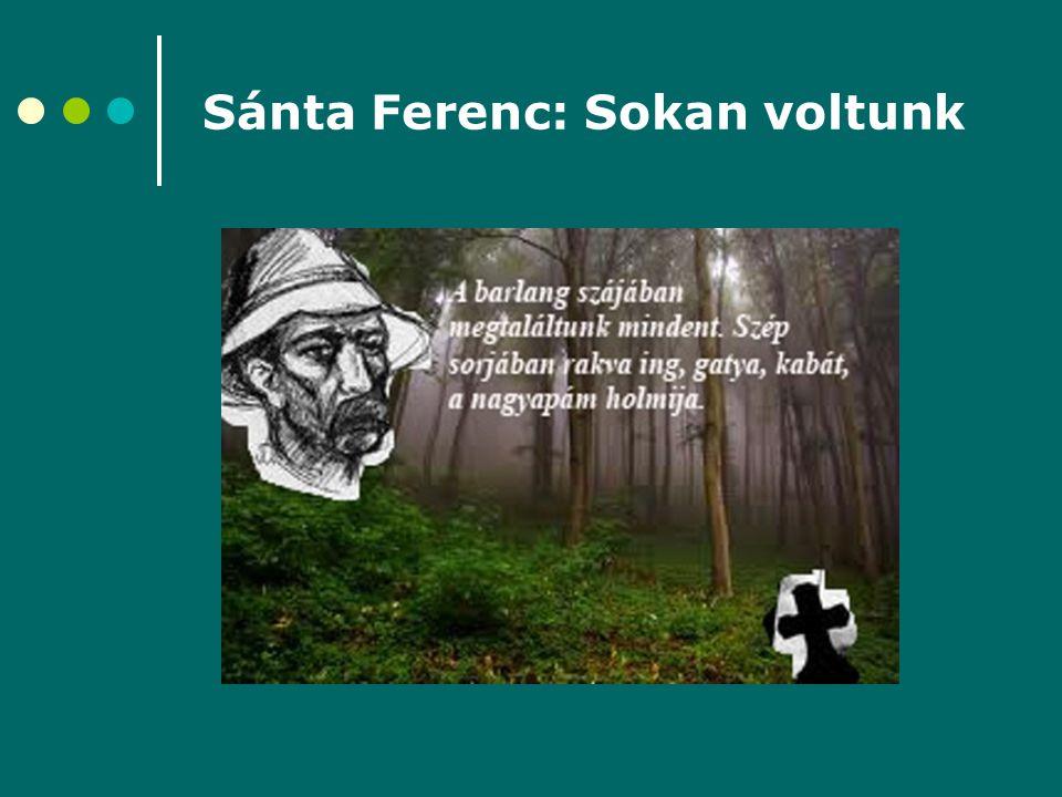 Sánta Ferenc: Sokan voltunk