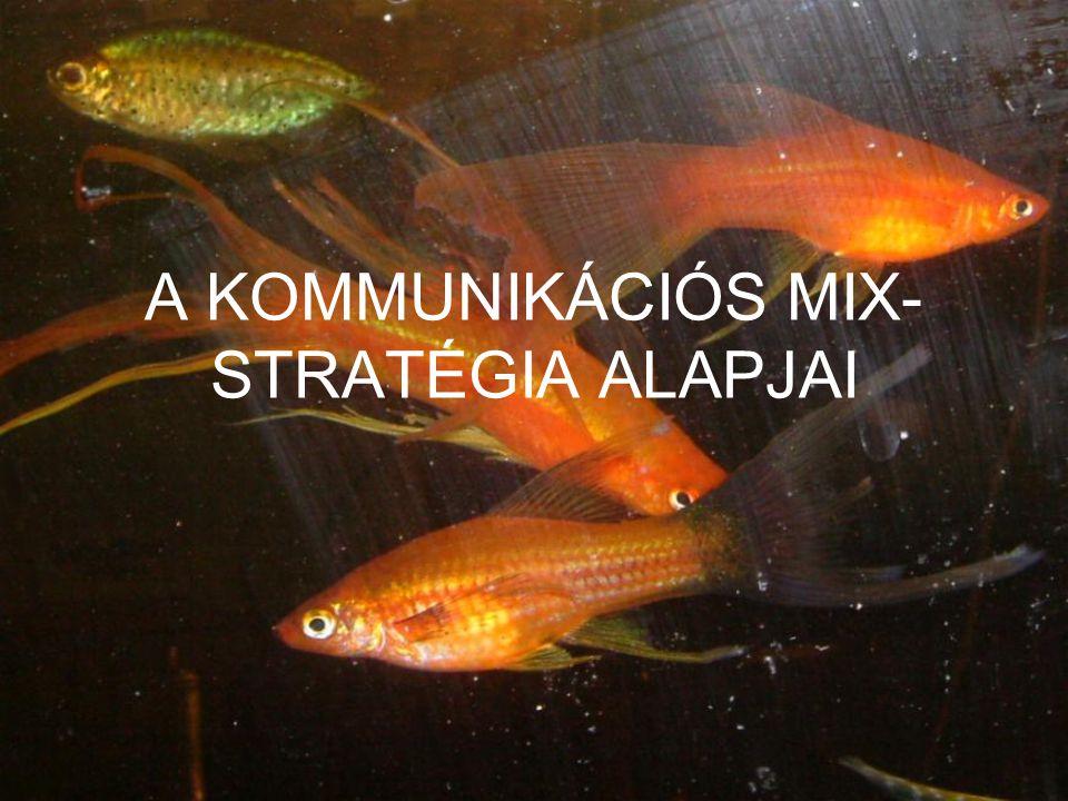 A KOMMUNIKÁCIÓS MIX-STRATÉGIA ALAPJAI