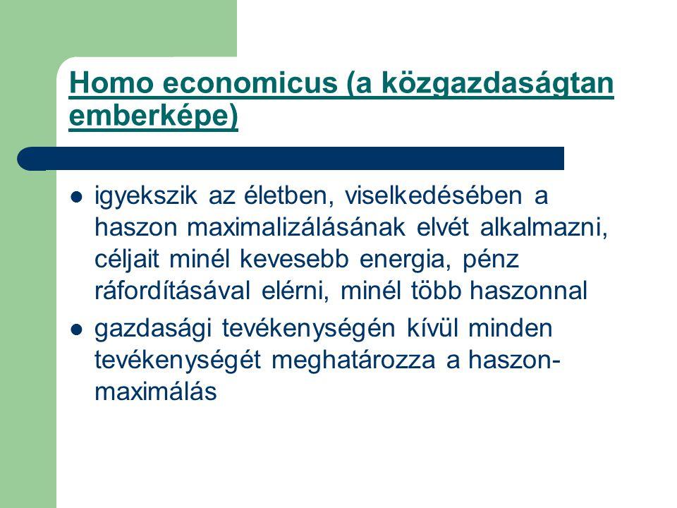 Homo economicus (a közgazdaságtan emberképe)