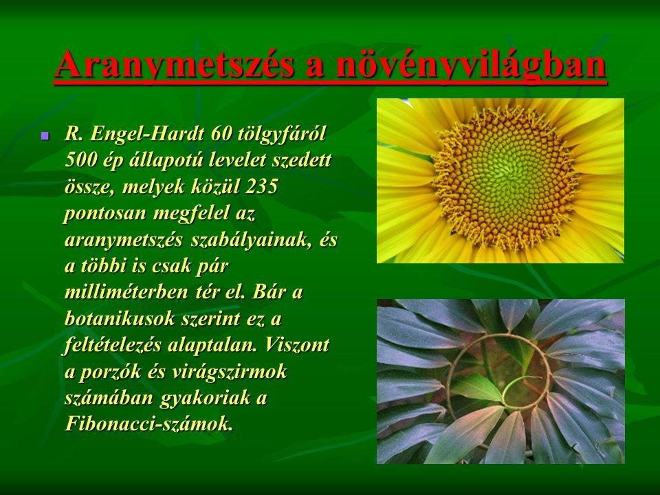 Aranymetszés a növényvilágban