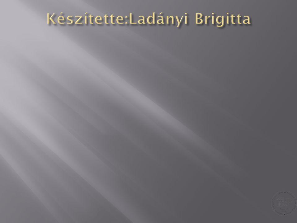 Készítette:Ladányi Brigitta