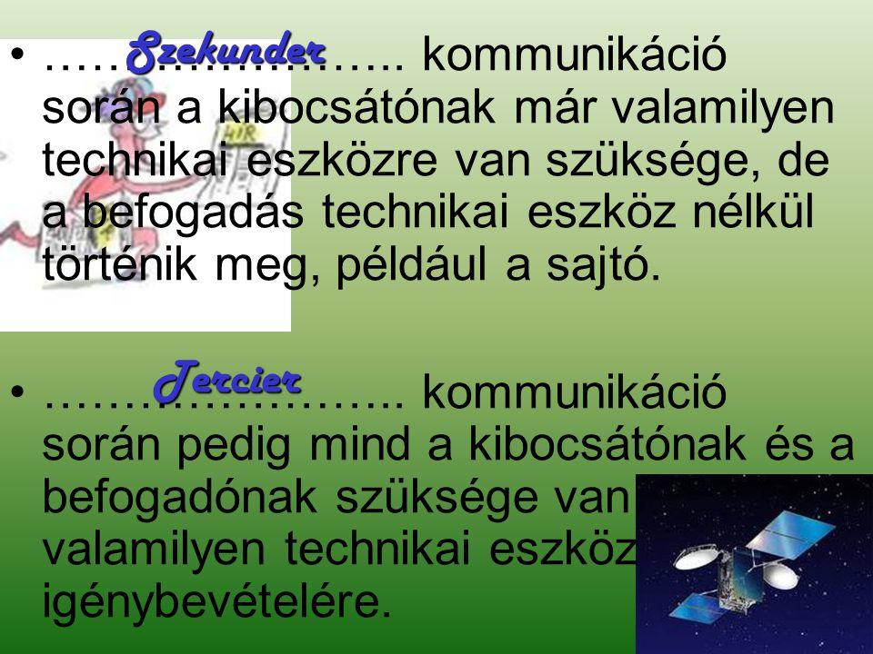 Szekunder