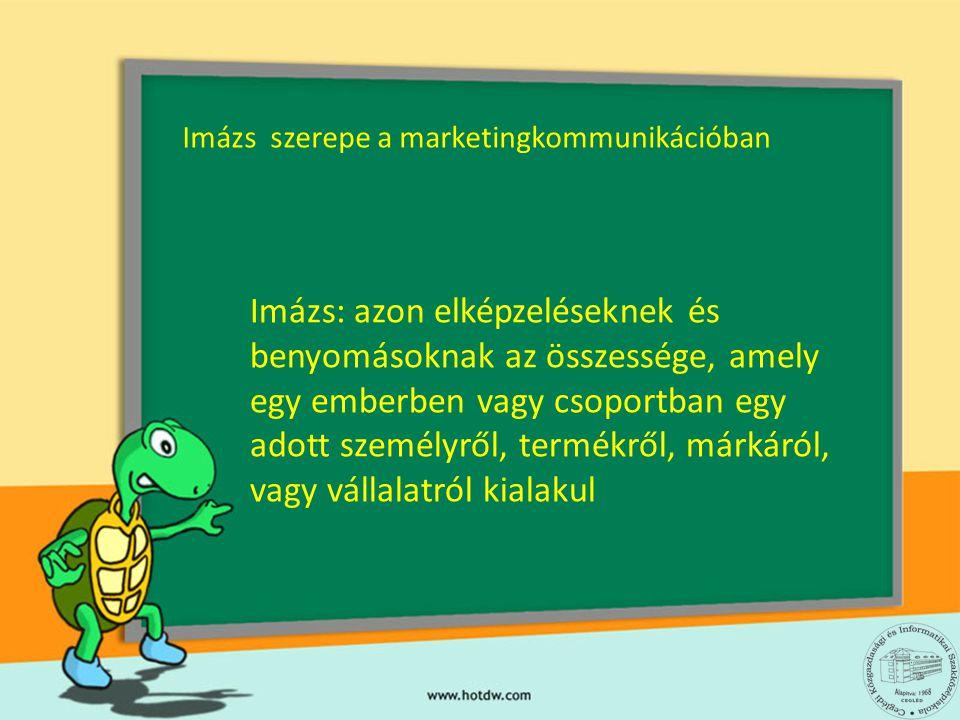 Imázs szerepe a marketingkommunikációban