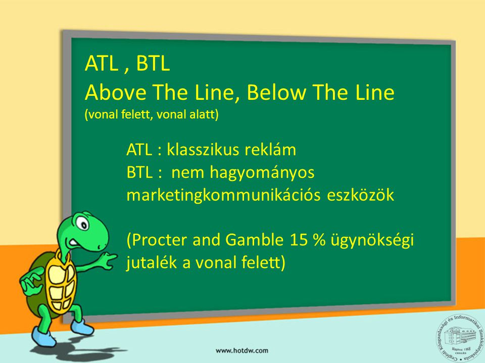 ATL , BTL Above The Line, Below The Line
