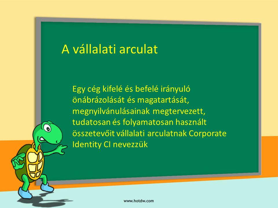 A vállalati arculat