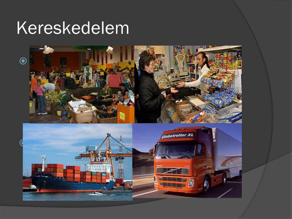 Kereskedelem 1. Belkereskedelem