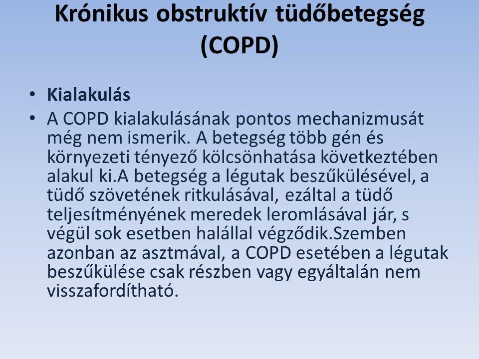 Krónikus obstruktív tüdőbetegség (COPD)