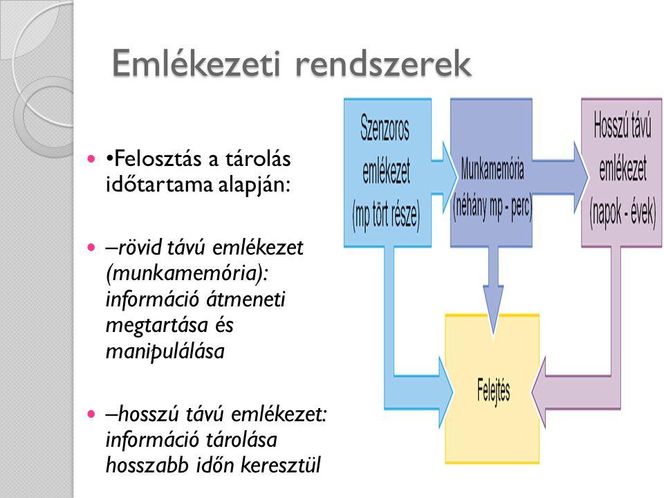 Emlékezeti rendszerek