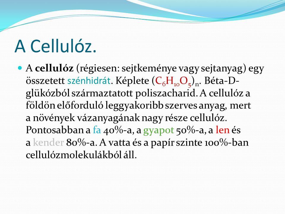 A Cellulóz.