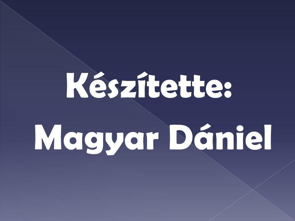 Készítette: Magyar Dániel