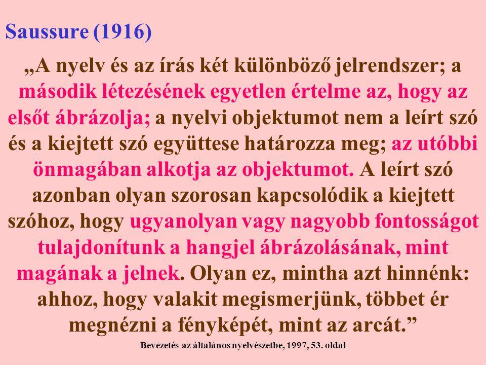 Bevezetés az általános nyelvészetbe, 1997, 53. oldal