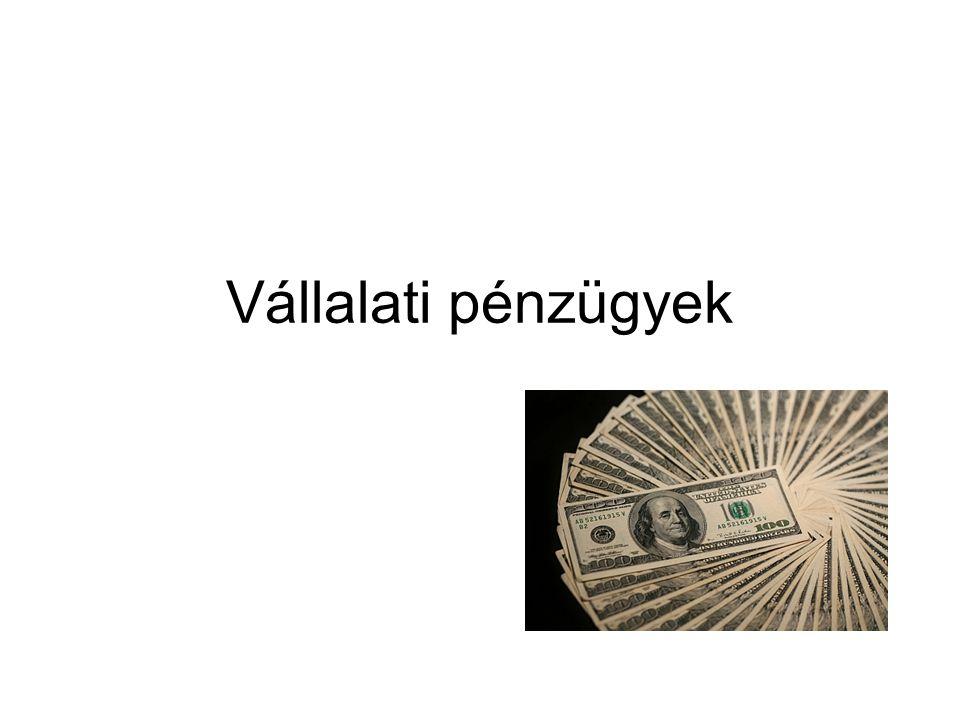 Vállalati pénzügyek