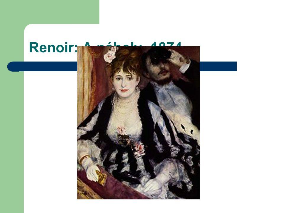 Renoir: A páholy 1874