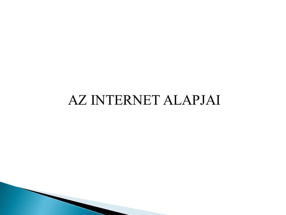 AZ INTERNET ALAPJAI