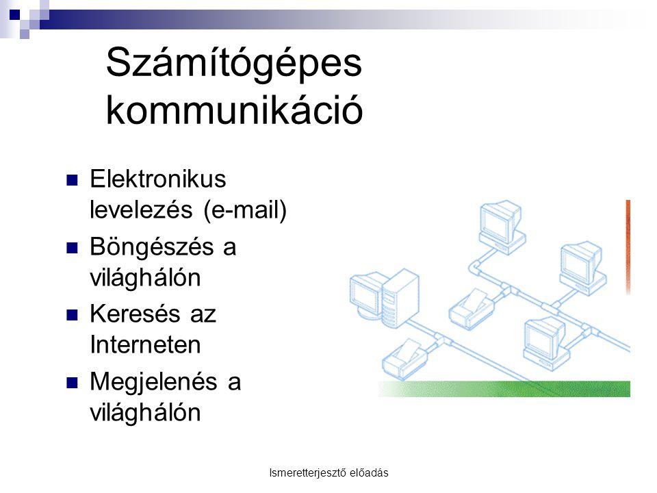 Számítógépes kommunikáció