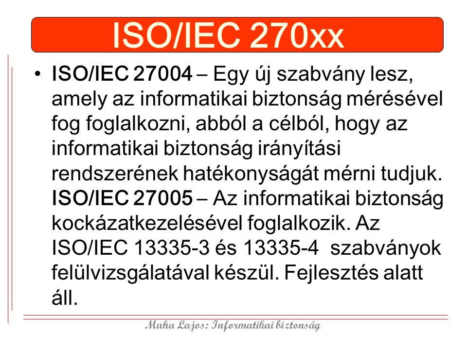 ISO/IEC 270xx