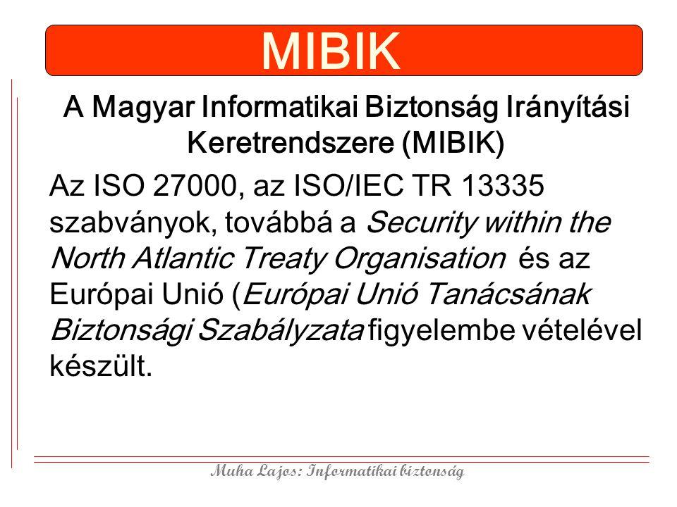 A Magyar Informatikai Biztonság Irányítási Keretrendszere (MIBIK)