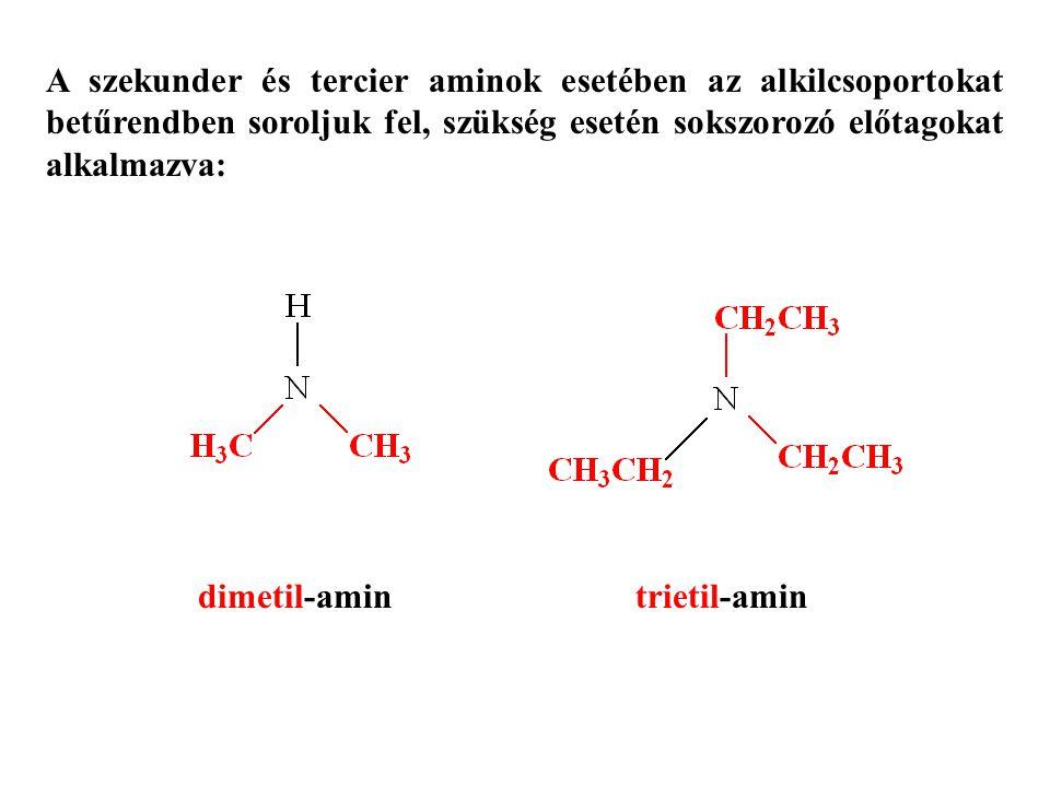 dimetil-amin trietil-amin