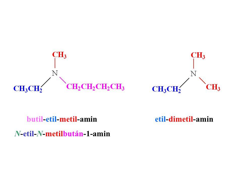 butil-etil-metil-amin etil-dimetil-amin