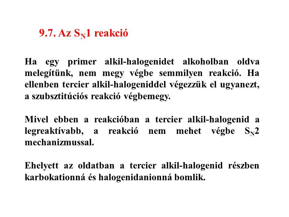 9.7. Az SN1 reakció