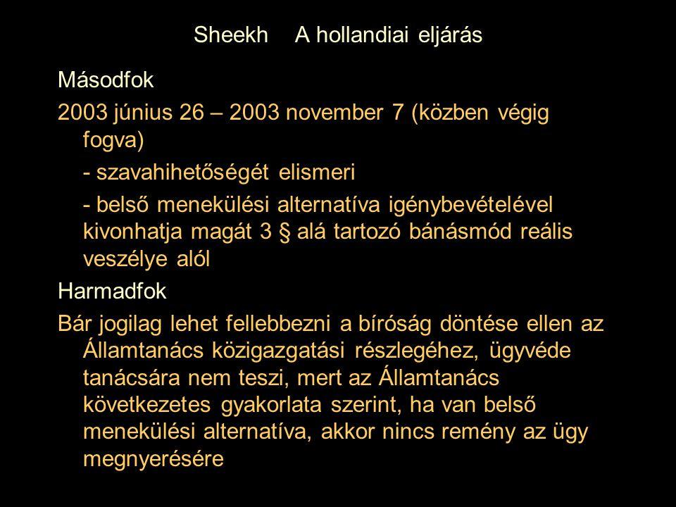 Sheekh A hollandiai eljárás