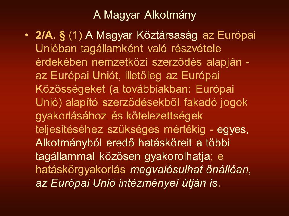 A Magyar Alkotmány