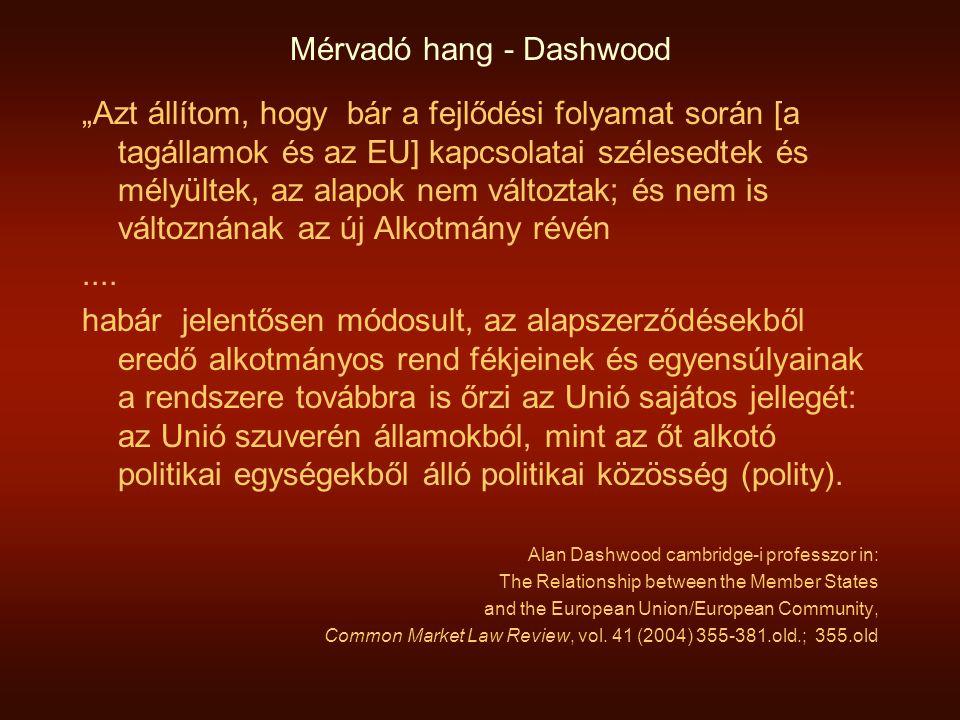 Mérvadó hang - Dashwood