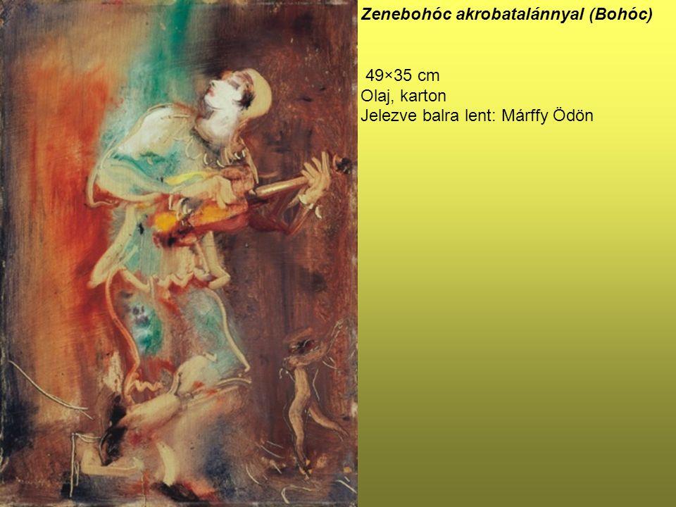 Zenebohóc akrobatalánnyal (Bohóc)
