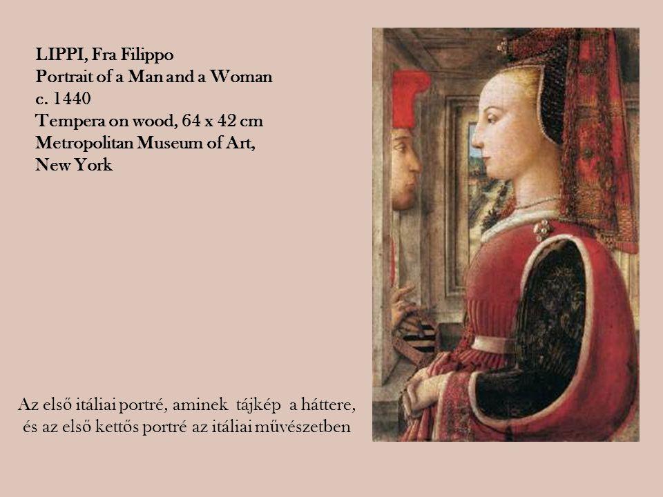 Az első itáliai portré, aminek tájkép a háttere,
