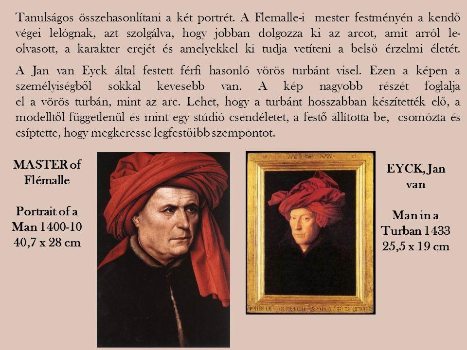 Tanulságos összehasonlítani a két portrét