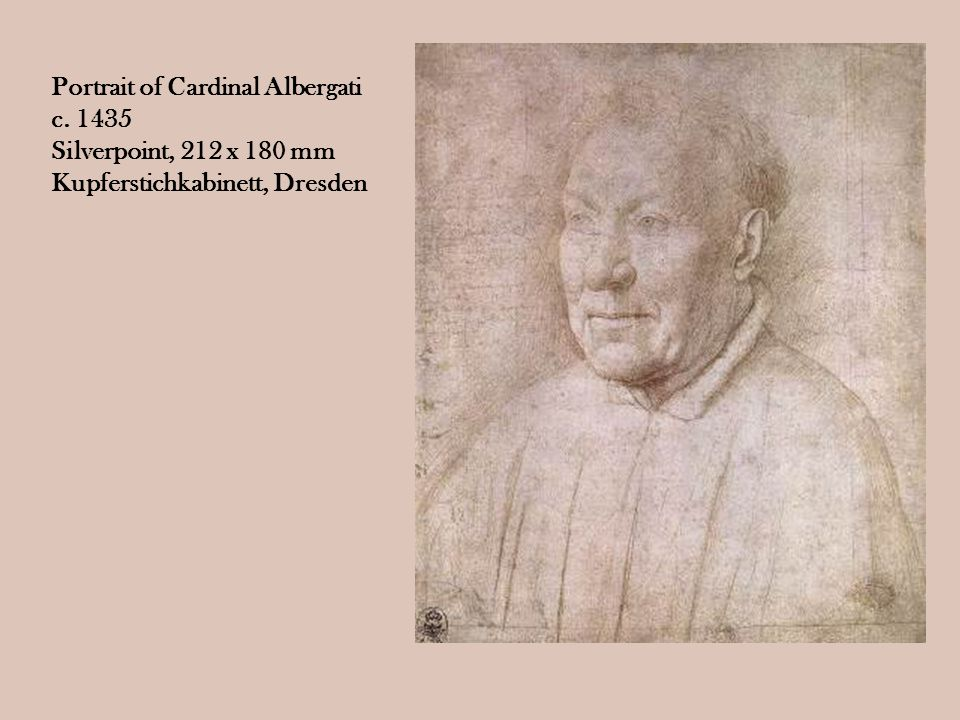 Portrait of Cardinal Albergati