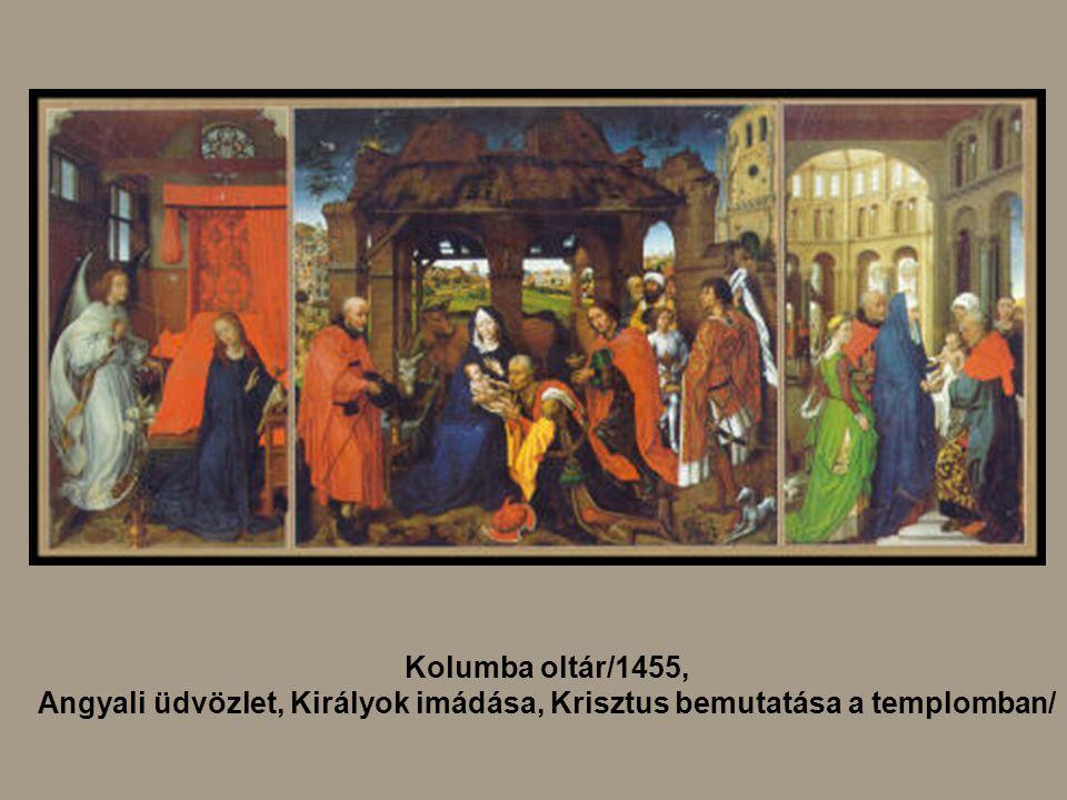 Angyali üdvözlet, Királyok imádása, Krisztus bemutatása a templomban/