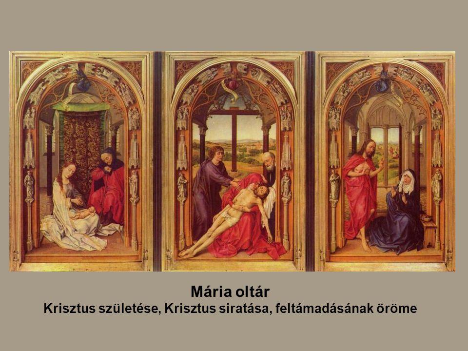 Krisztus születése, Krisztus siratása, feltámadásának öröme