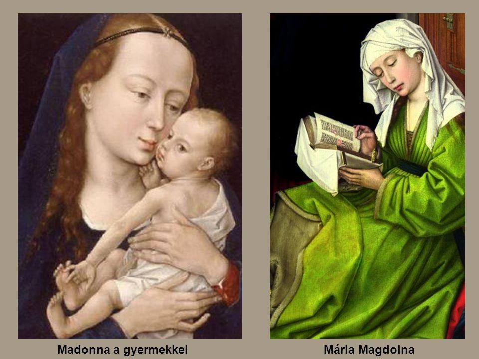 Madonna a gyermekkel Mária Magdolna