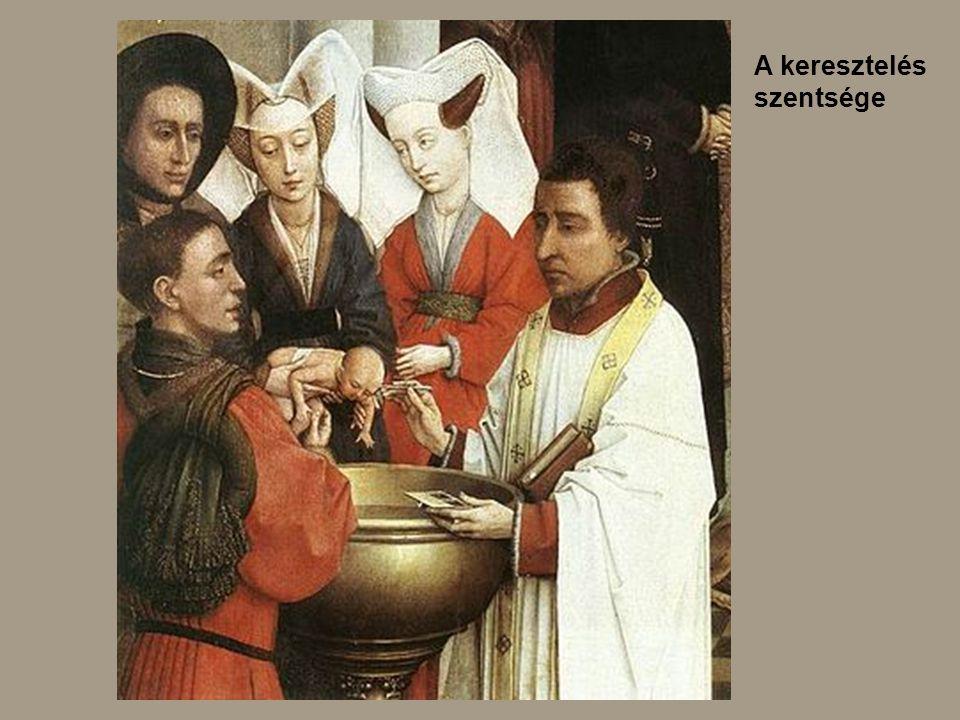 A keresztelés szentsége
