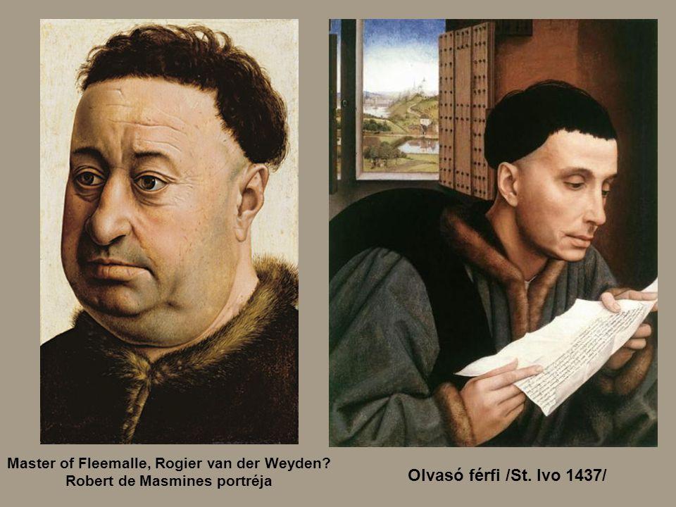 Olvasó férfi /St. Ivo 1437/ Nikolas Rolin
