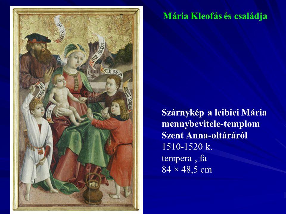 Mária Kleofás és családja