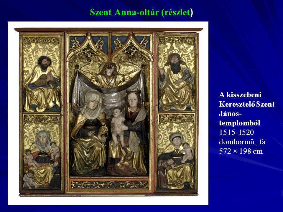 Szent Anna-oltár (részlet)