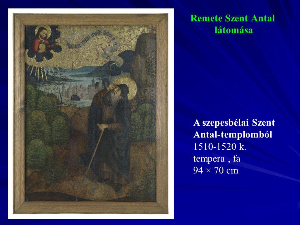 Remete Szent Antal látomása