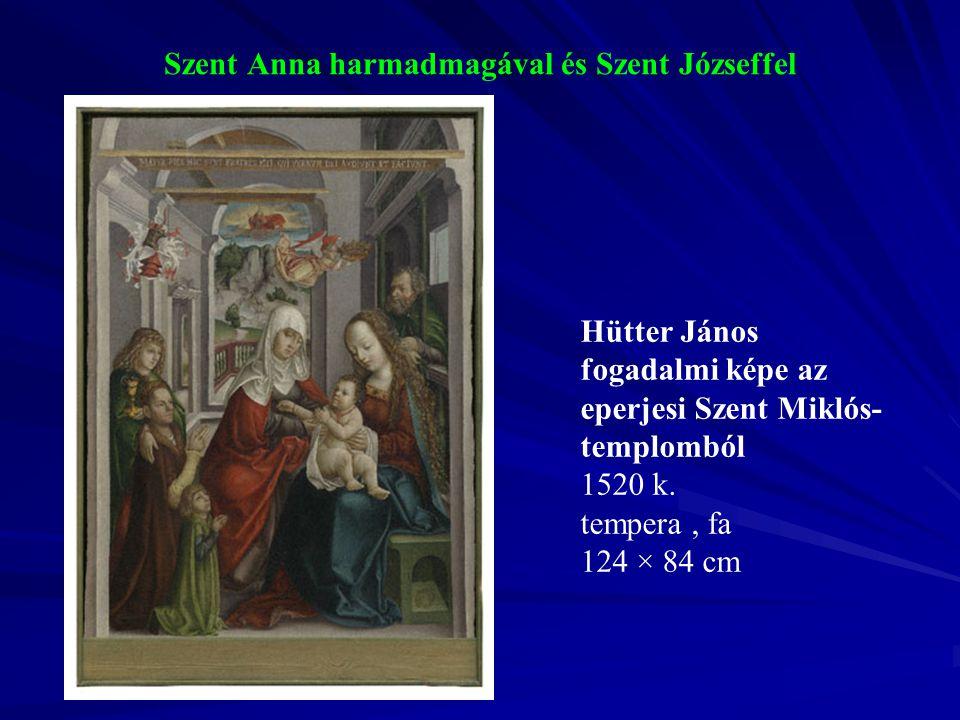 Szent Anna harmadmagával és Szent Józseffel