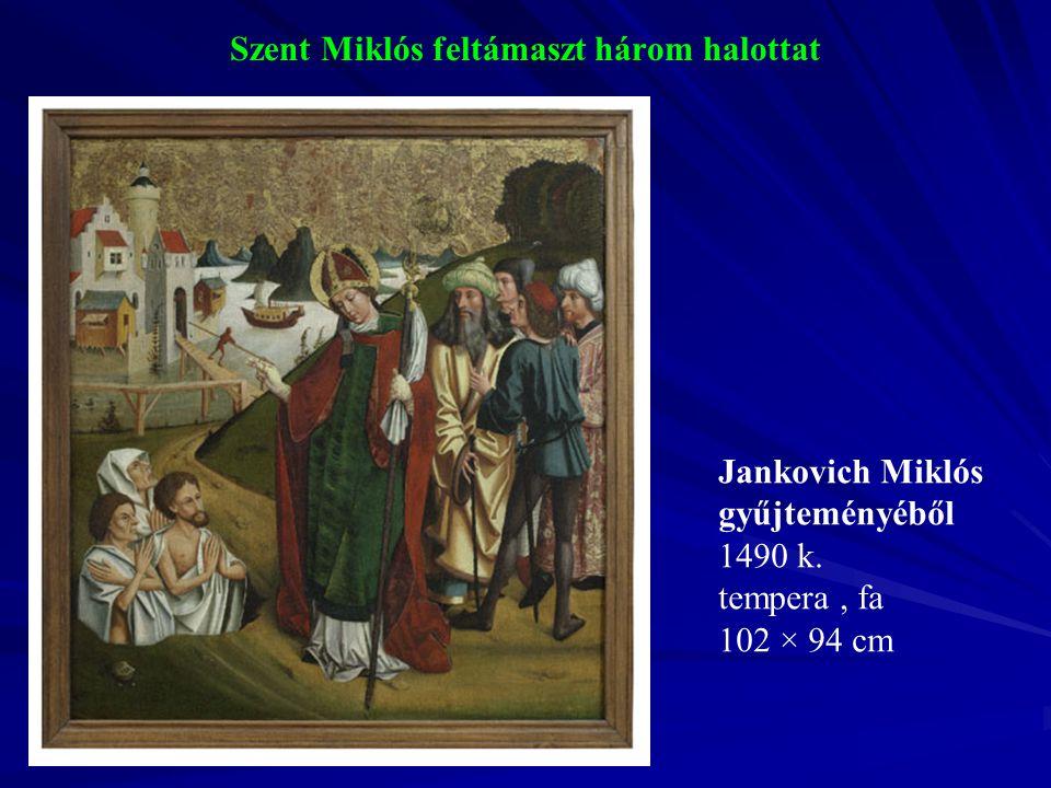 Szent Miklós feltámaszt három halottat