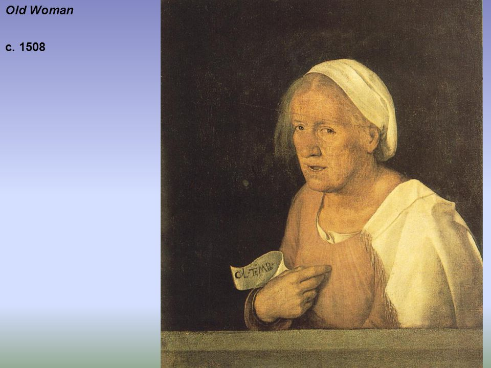 Old Woman c. 1508