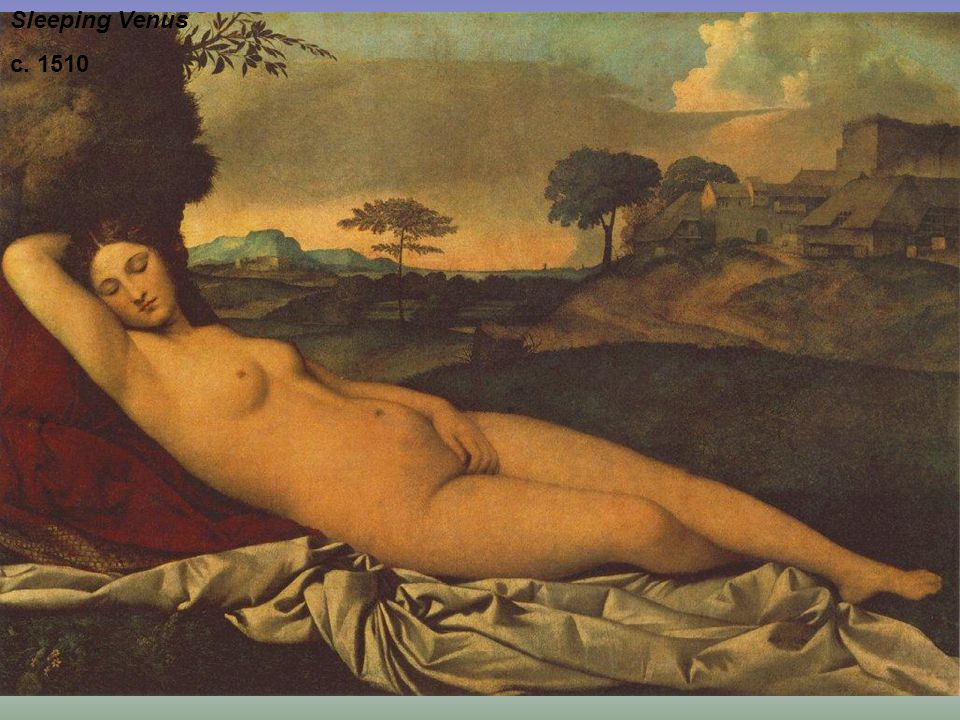 Sleeping Venus c. 1510