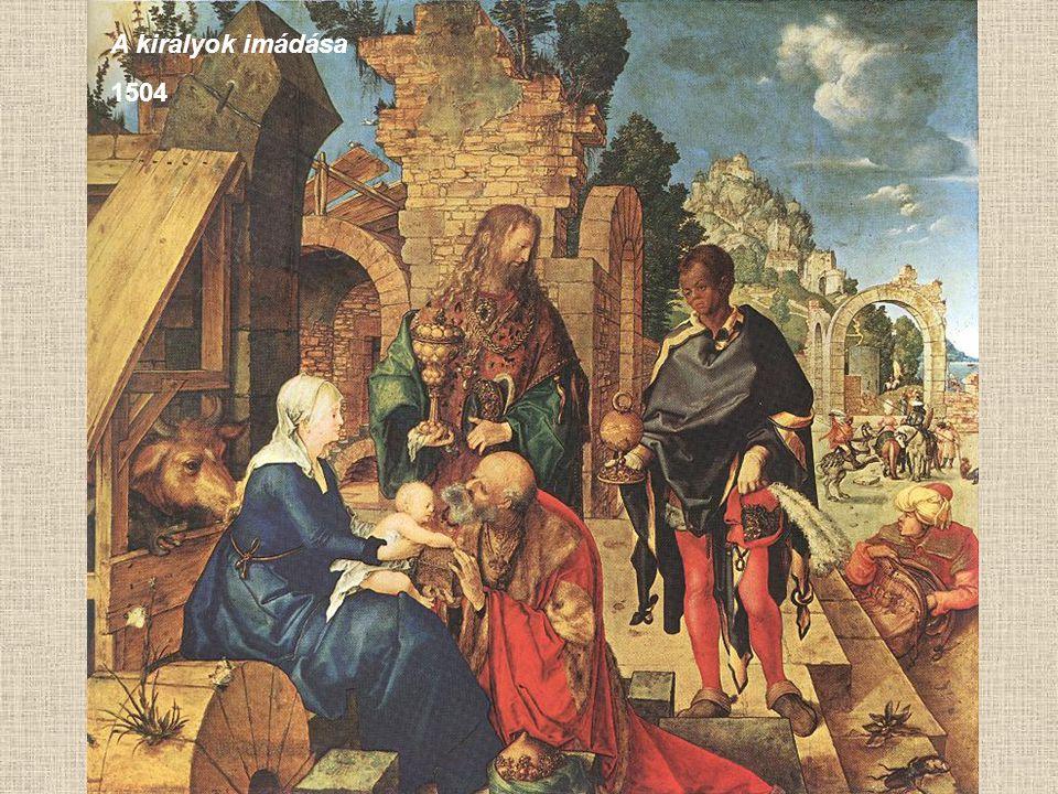 A királyok imádása 1504