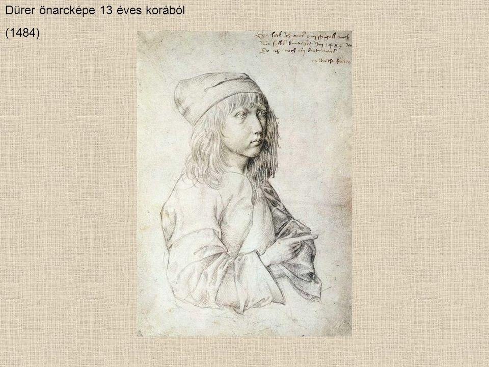 Dürer önarcképe 13 éves korából