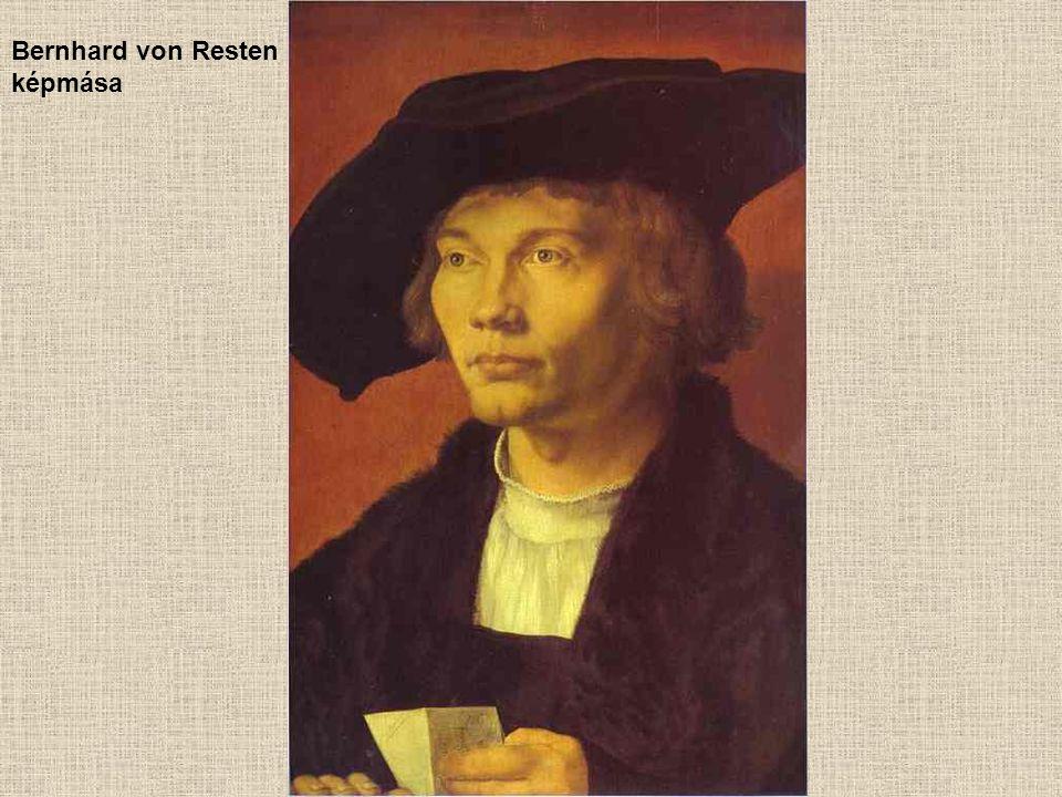 Bernhard von Resten képmása