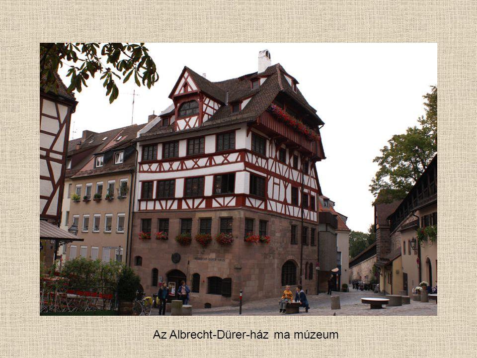 Az Albrecht-Dürer-ház ma múzeum