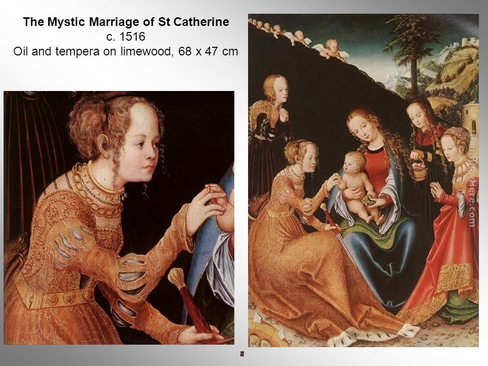 The Mystic Marriage of St Catherine c